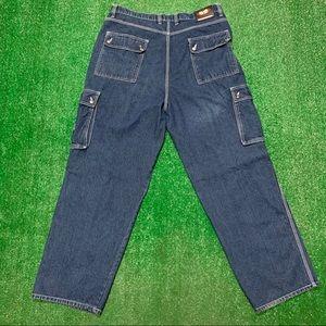 Vintage Wu Wear Wu Tang Denim Baggy Hip Hop Jeans
